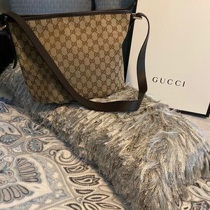 Authentic Gucci Large Crossbody Bag